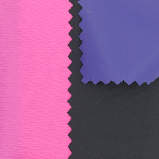 190t nylon soft pvc fabric