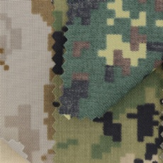 pu coated 500d camo nylon fabric
