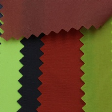 pu coated 190T nylon taffeta fabric